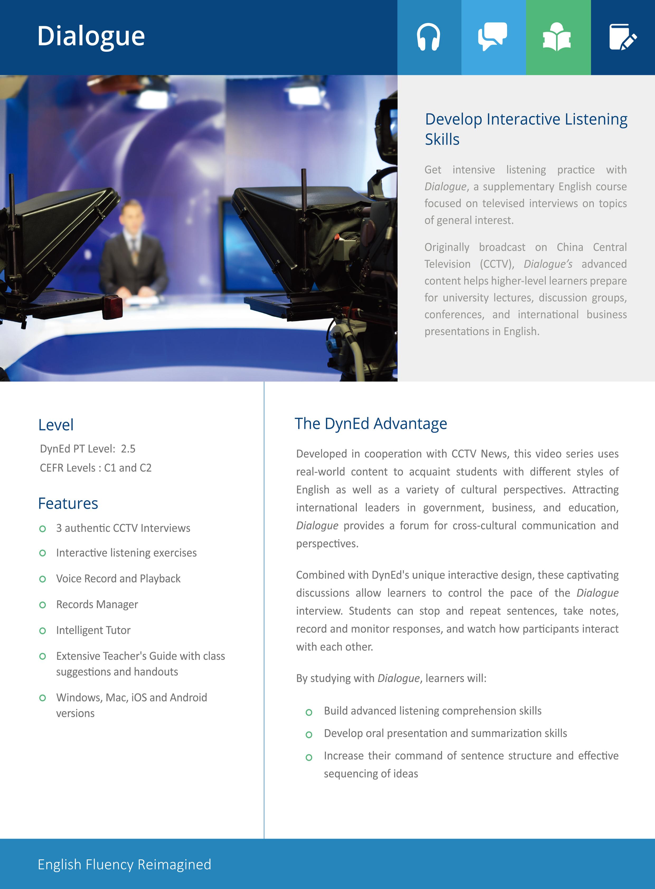 DIALOGUE Course Leaflet